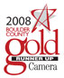 Boulder County and Daily Camera Gold Star award logo